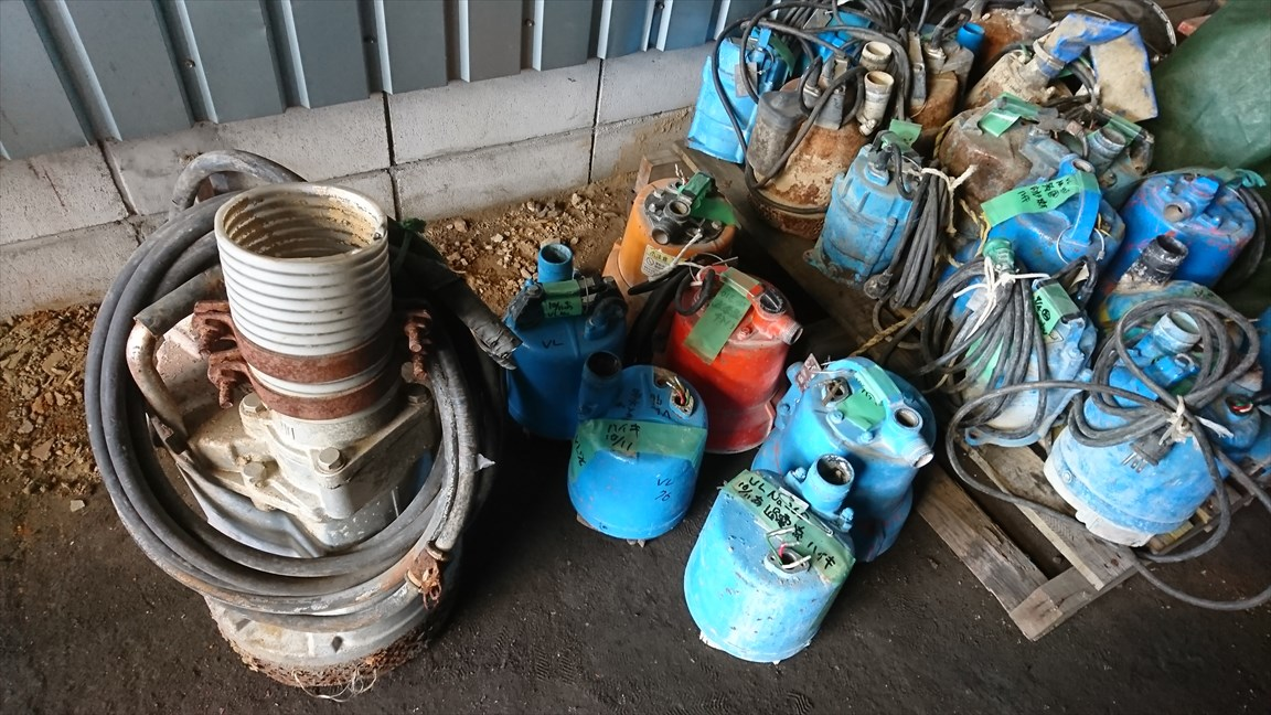 USED Water pumps (various)